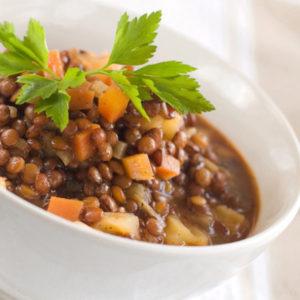 Angela's Lentil Soup