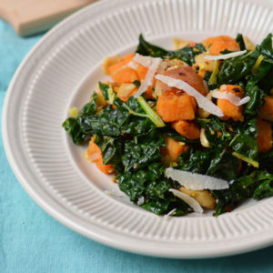 Sweet Potato, Kale & White Bean Hash