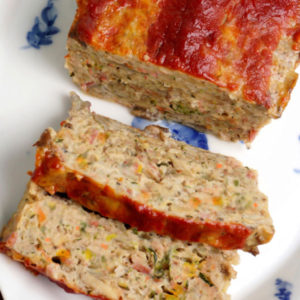 Quinoa Turkey Meatloaf