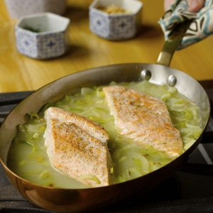 The Diabetes-Friendly Kitchen Fish Poached in Fennel-Orange Broth