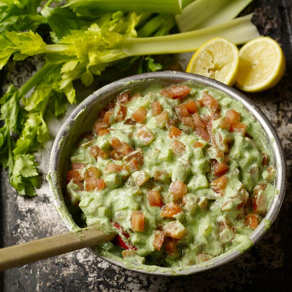 Tofu and cucumber dip from the Diabetes-Friendly Kitchen cookbook