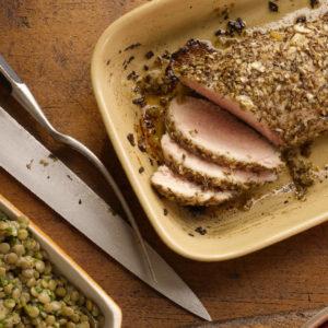 Caraway-Herb Roasted Pork Tenderloin